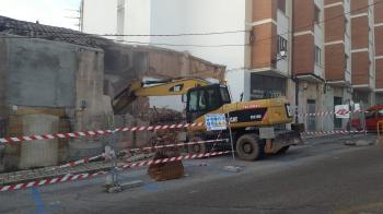 Derribo de edificio